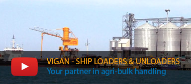 Vigan, Ship unloader manufacturer, pneumatic ship unloader